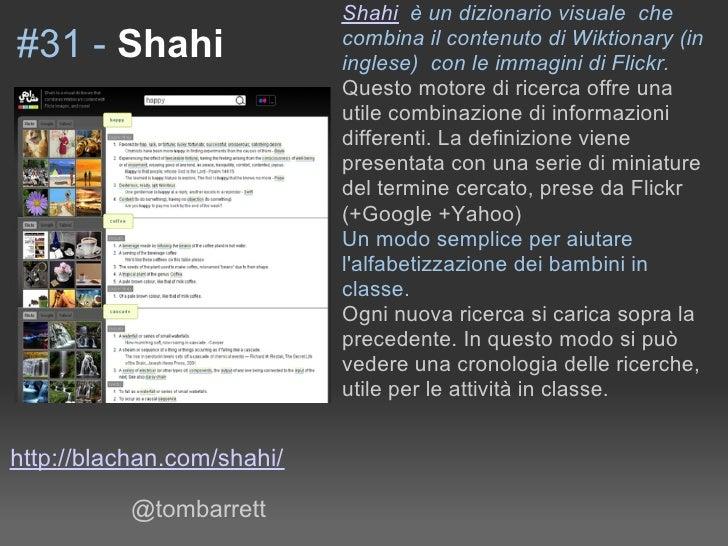 Shahi è un dizionario visuale che                             combina il contenuto di Wiktionary (in #31 - Shahi          ...