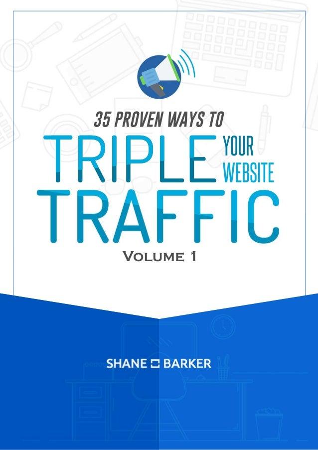 35PROVENWAYSTO YOUR WEBSITETRIPLE Volume1 35PROVENWAYSTO