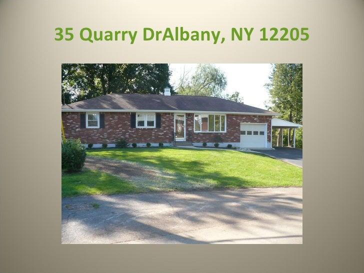 35 Quarry DrAlbany, NY 12205