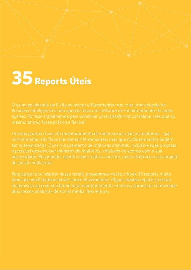 35 Reports úteis para Monitoramento de Redes Sociais Slide 2