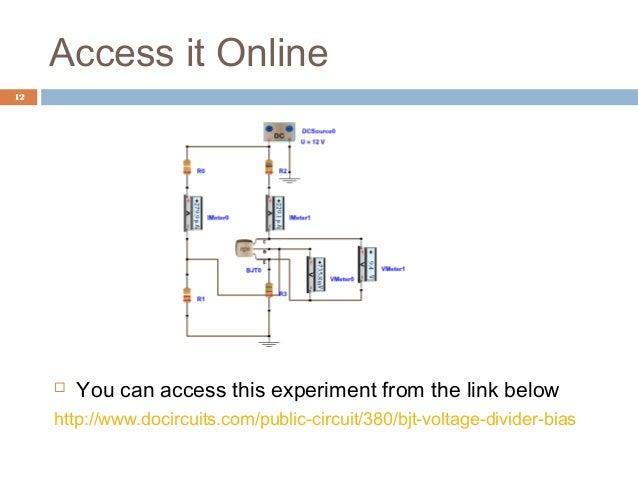36 voltage divider bias rh slideshare net