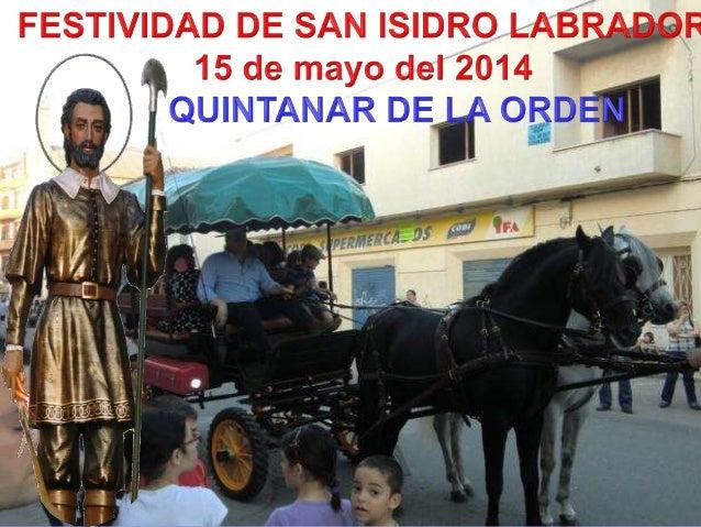 MONICIÓN DE ENTRADA Estamos de fiesta en este día de San Isidro; es ocasión de divertirnos, de compartir y encontrarnos co...