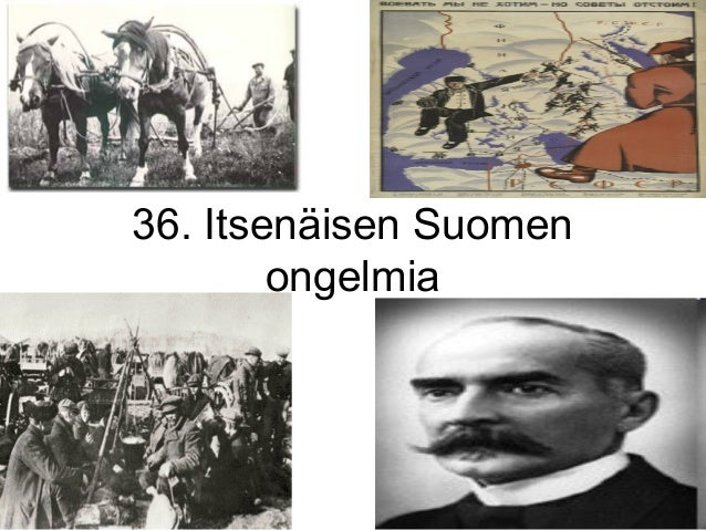 36. itsenäisen suomen ongelmia