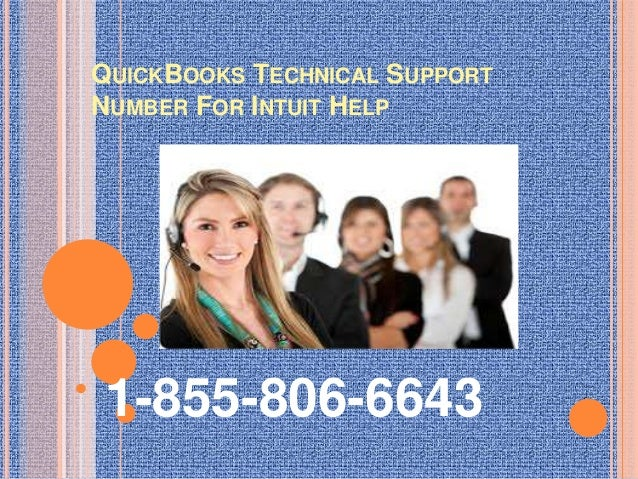 QuickBooks Technical Support Number For Intuit Help