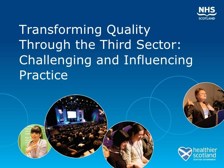 Transforming Quality Through the Third Sector: Challenging and Influencing Practice