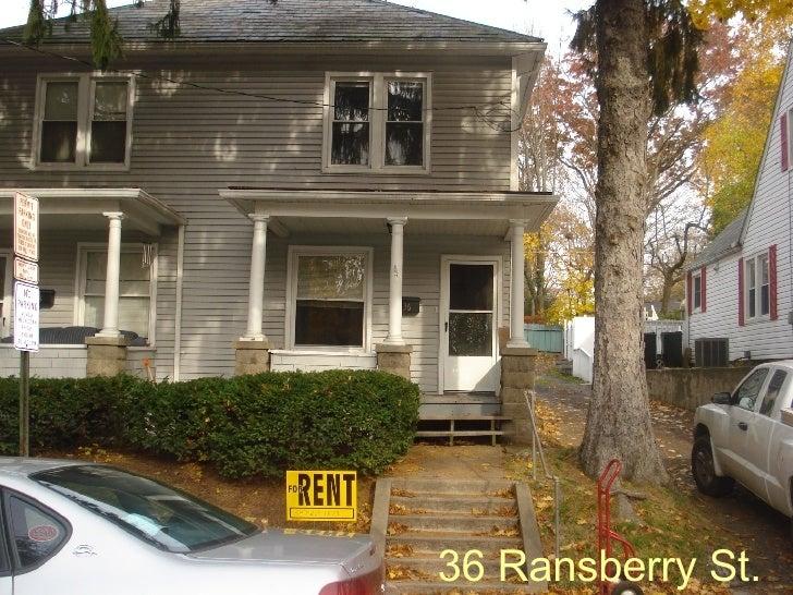 36 Ransberry St.