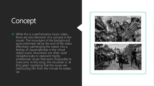 360 Degree Music Video Analysis