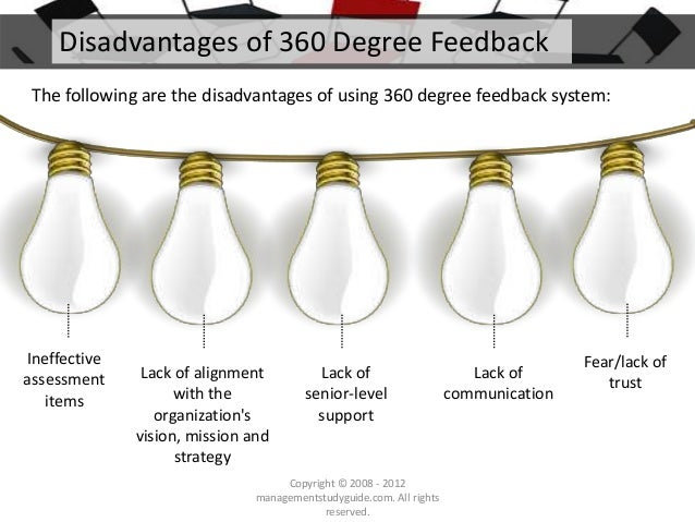 5 Advantages and Disadvantages of 360 Degree Performance Appraisal