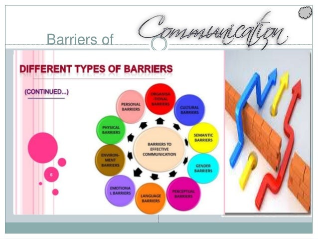Barriers of