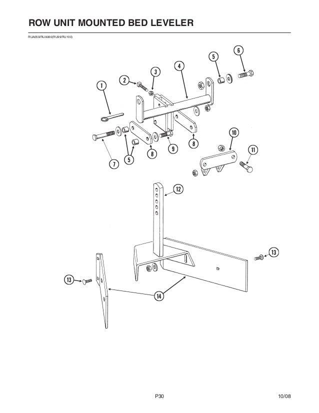 34 Kinze Planter Parts Diagram