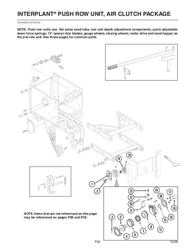 Kinze 3600 Parts Catalog