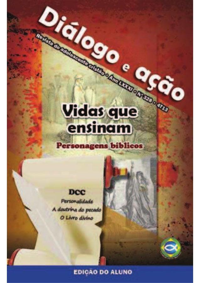 DA 2013 REVISTA 1 BAIXAR ESCOLA DOMINICAL TRIMESTRE