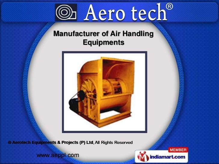 Manufacturer of Air Handling       Equipments