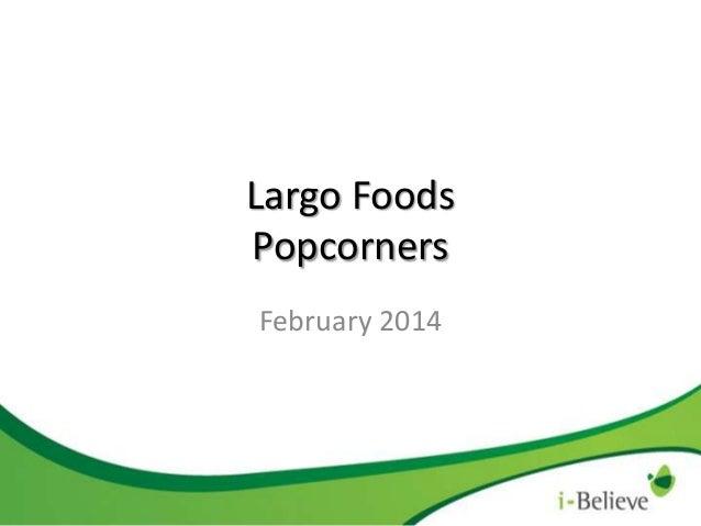 Largo Foods Popcorners February 2014