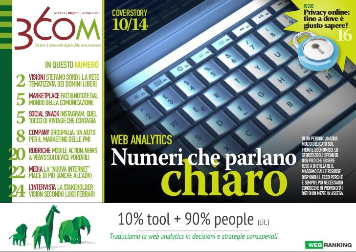 focus                     ANNO III | #10/11 | 28 MAR 2012                                                           covers...