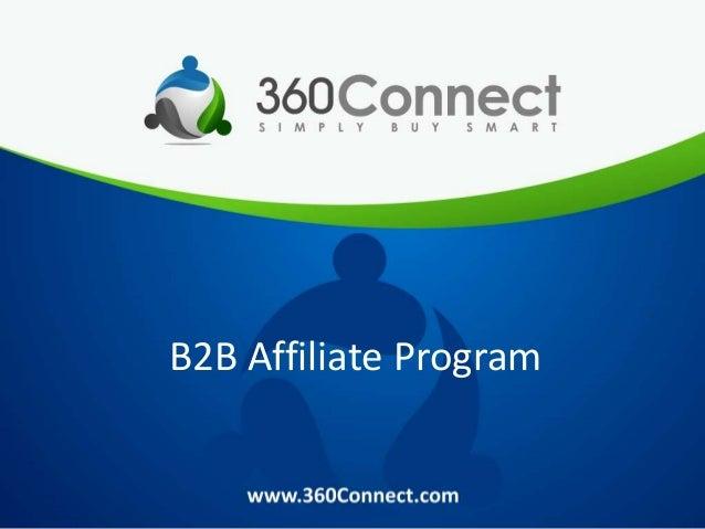 B2B Affiliate Program