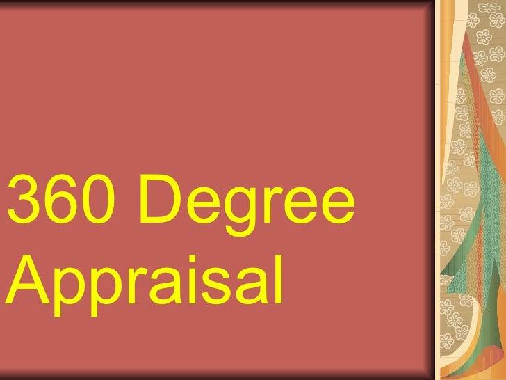 360 DegreeAppraisal