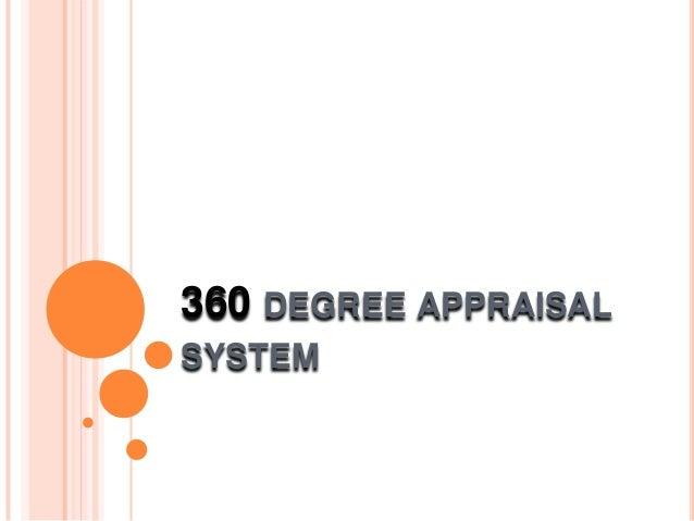 360 DEGREE APPRAISALSYSTEM