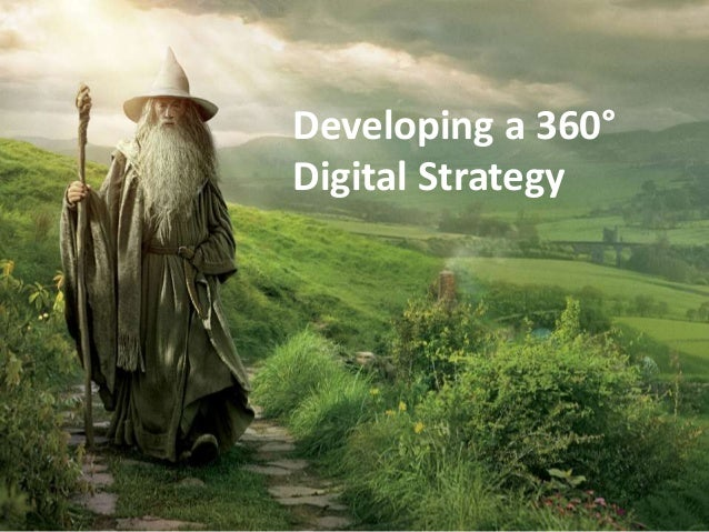Developing a 360°  Digital Strategy
