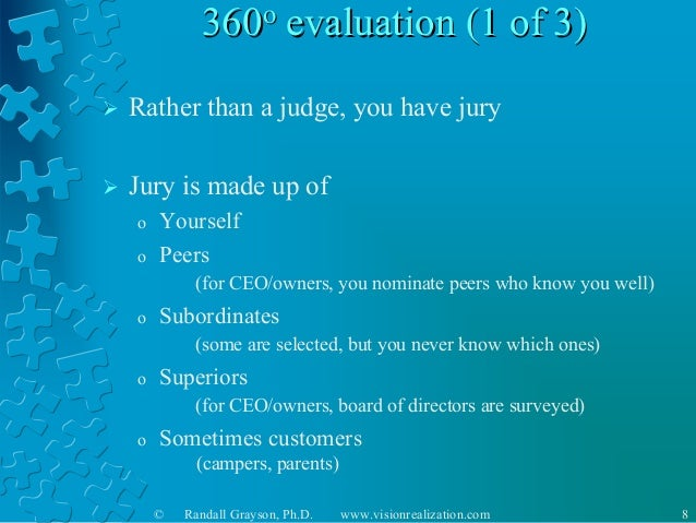 Degree Evaluation