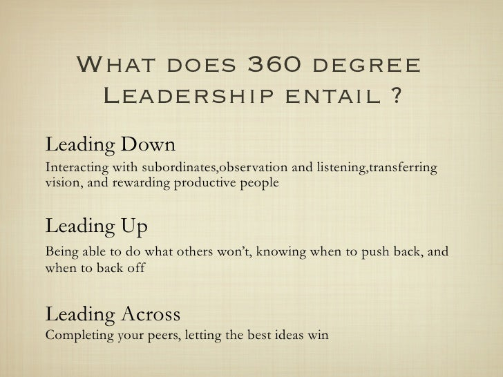 Read book the 360 degree leader: developing your influence from.