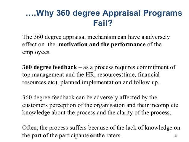 360 540 degree appraisal