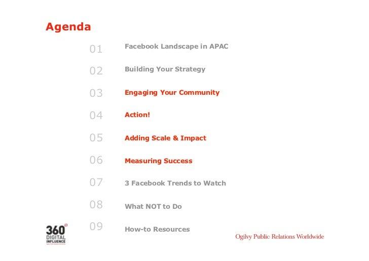 Agenda 01 Facebook Landscape in