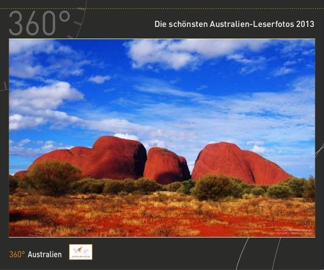 Die schönsten Australien-Leserfotos 2013                              Kata Tjuta (Northern Territory)                     ...