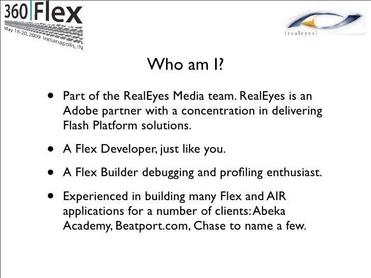 Simple flex application example.