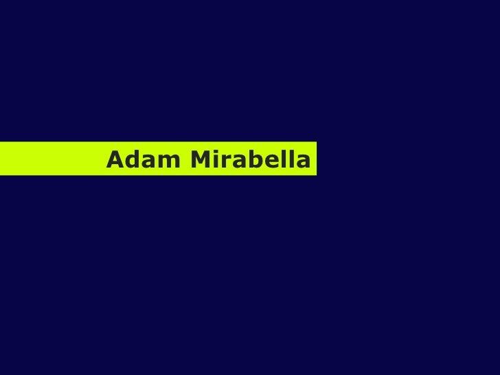 Adam Mirabella