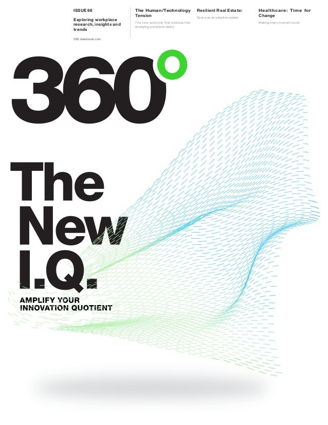 The Human/Technology Tension The new solutions that address this emerging workplace reality Issue 66 Exploring workplace r...