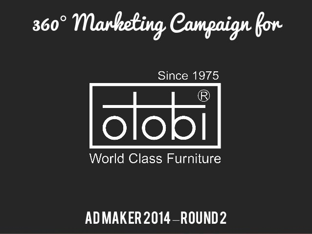 360° Marketing Campaign for ADMaker2014–Round2