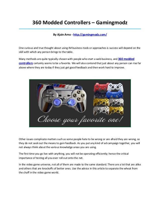 360 Modded Controllers – Gamingmodz_____________________________________________________________________________________  ...