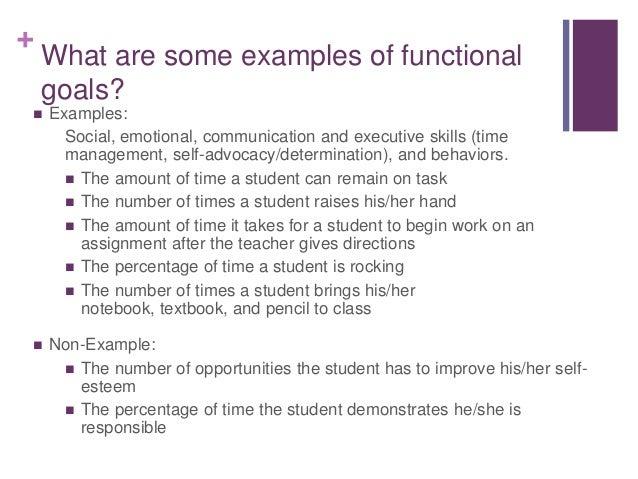 Writing adaptive behavior skills iep goals