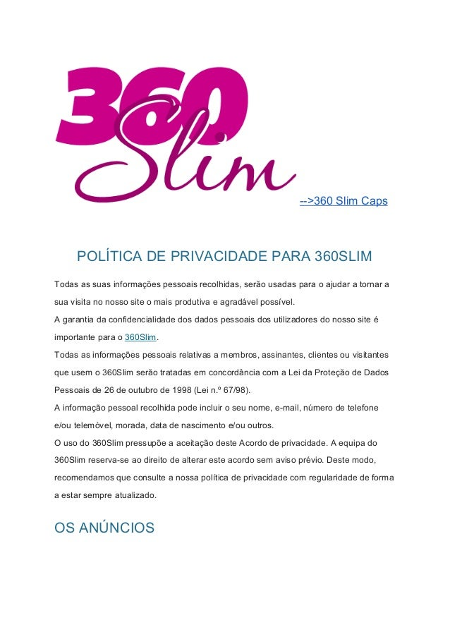 slim 360 remedio