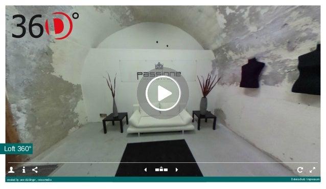 Loft 360°         created by uwe duldinger , crossmedia Datenschutz Impressum