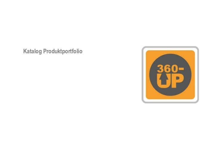 Katalog Produktportfolio