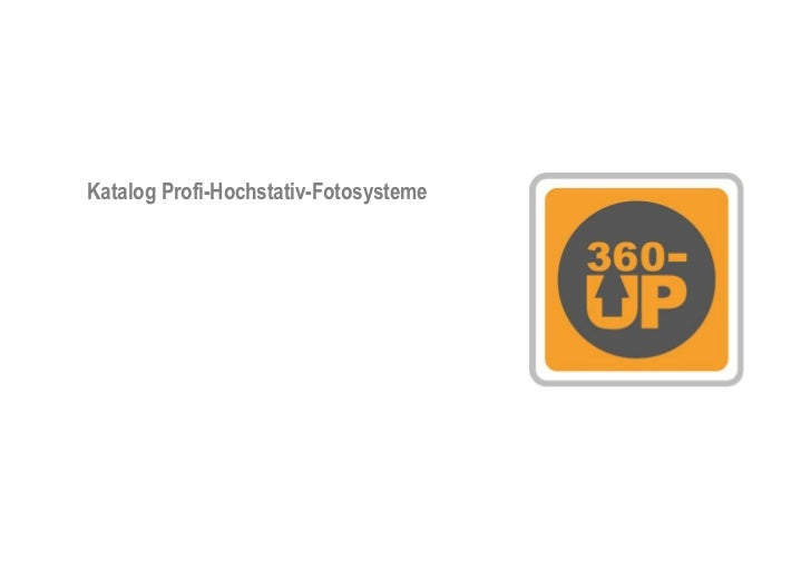 Katalog Profi-Hochstativ-Fotosysteme