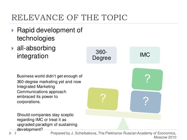 RELEVANCE OF THE TOPIC<br />Rapid development of technologies <br />all-absorbing integration<br />Business world didn't g...