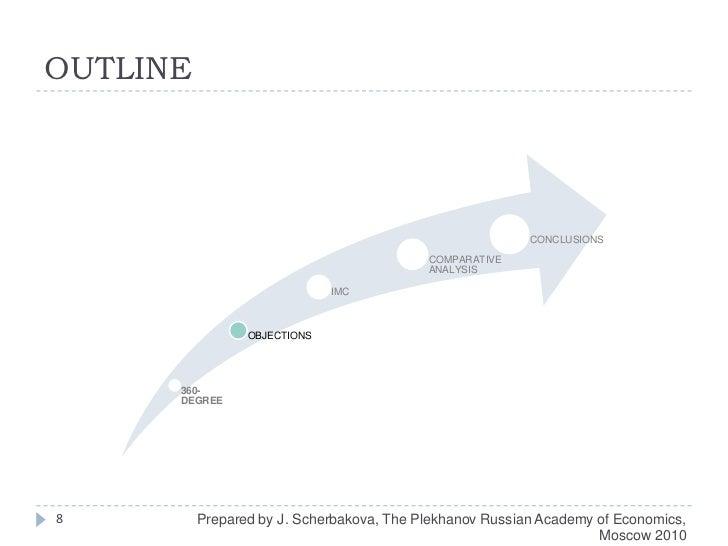 OUTLINE<br />8<br />Prepared by J. Scherbakova, The Plekhanov Russian Academy of Economics, Moscow 2010<br />