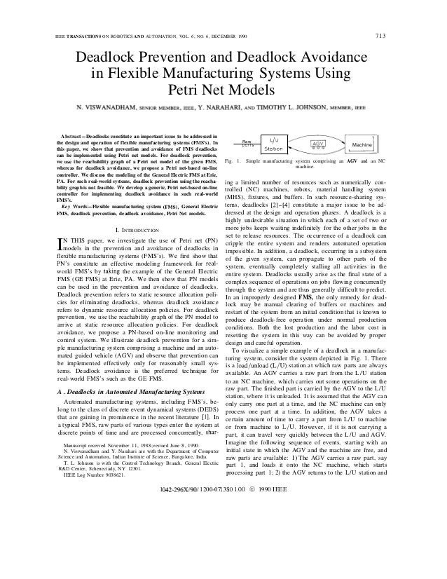 IEEE TRANSACTIONS ON ROBOTICS AND AUTOMATION, VOL. 6, NO. 6, DECEMBER 1990                                                ...