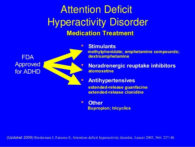 the use of ritalin on attention deficit hyperactivity disorder and attention deficit disorder
