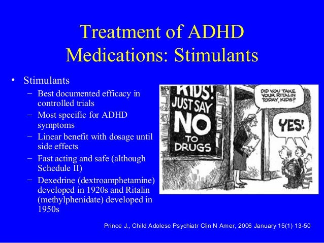 Attention Deficit Hyperactivity Disorder (ADHD): Stimulant Therapy