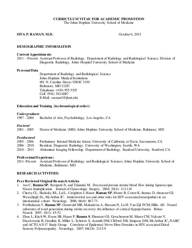 Raman CV Hopkins format 10-6-2015