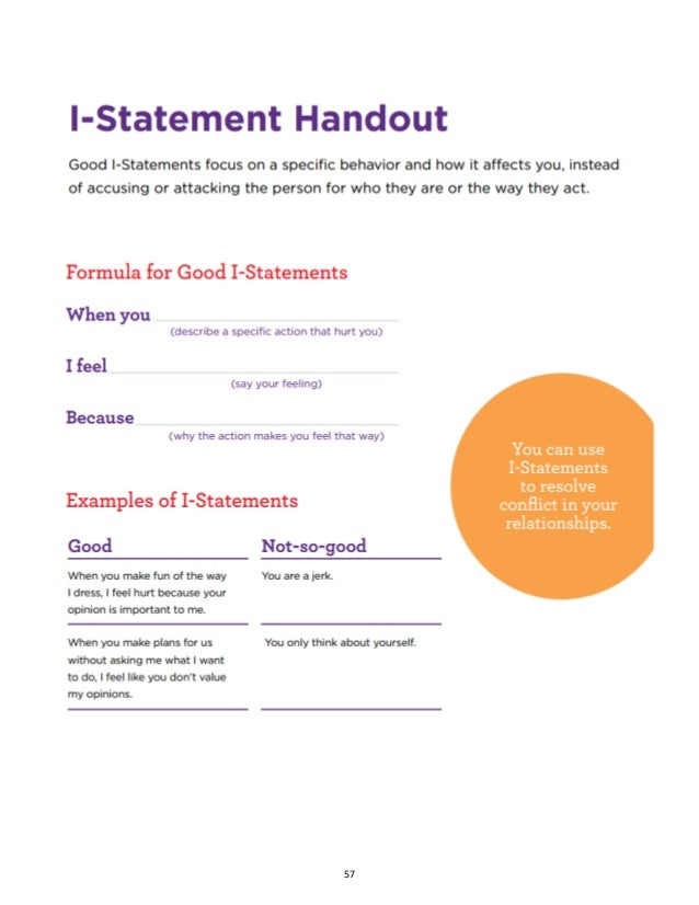 CAPSTONE PROJECT FINAL – I Statement Worksheets