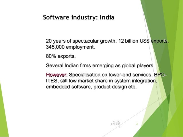 is china a threat to the indian software industry China's burgeoning it industry is not a threat to the indian software industry yet, but it is well entrenched in the domestic market to make the indian majors sweat to gain entry, says a top indian it official.