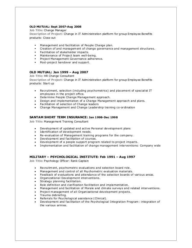 Resume for job server resume sample resume job title change – mkma.