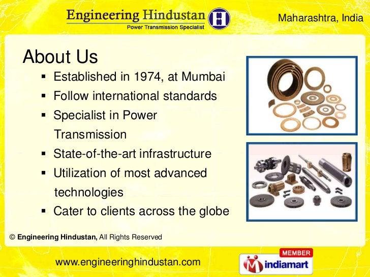 Maharashtra, India   About Us         Established in 1974, at Mumbai         Follow international standards         Spe...