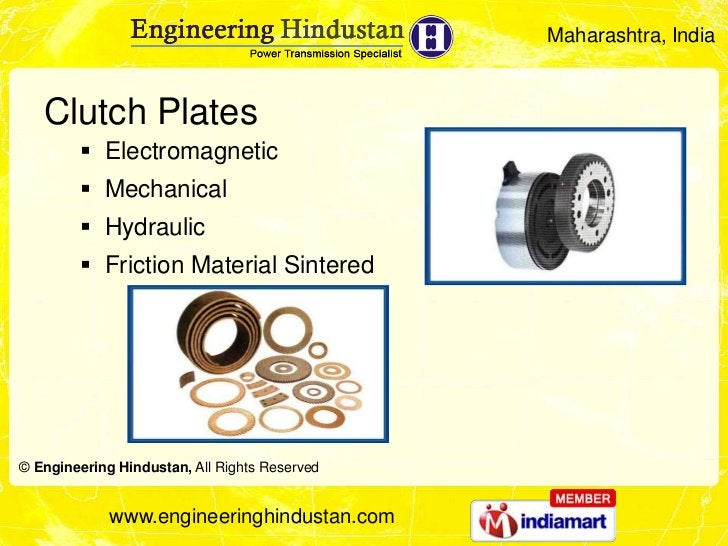 Maharashtra, India   Clutch Plates         Electromagnetic         Mechanical         Hydraulic         Friction Mater...