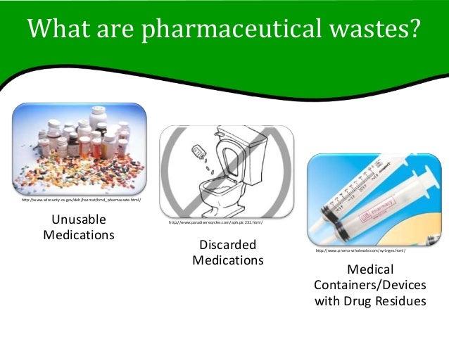 Pharmaceutical Waste Slideshow Slide 3